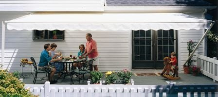 Sunsetter 20FT Cream 1000XT Retractable Awning