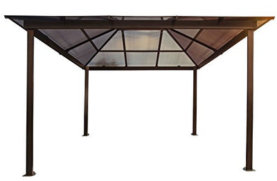 Paragon-Outdoor GZ620LSK Sierra Gazebo, Brown