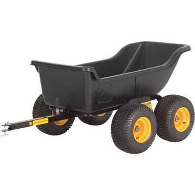 Polar Trailer 8261 HD 1200 Tandem Axle Utility Cart, 84 by 45 by 31-Inch