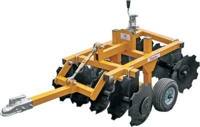 King Kutter Tow-Behind Garden Tractor/ATV Compact Disc - 33in. Working Width, Model Number 14-10-CD-YK