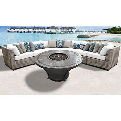 TK Classics FLORENCE-06o-WHITE Florence Seating Patio Furniture, Sail White