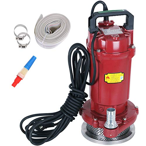 XY Pumping Submersible Pump Household 220V Agricultural Self-priming Pump Pumping Machine Automatic Water Pump Irrigation Sprinkler pump (Color : A, Size : 1500W)
