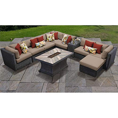 TK Classics VENICE-10h Venice Seating Outdoor Furniture, Wheat