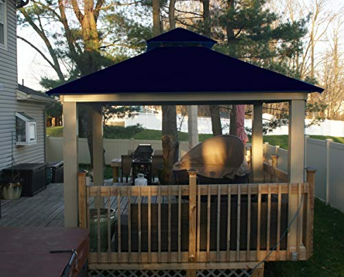 ACACIA 12ft x 12ft Gazebo Captains Navy OutDura Canopy