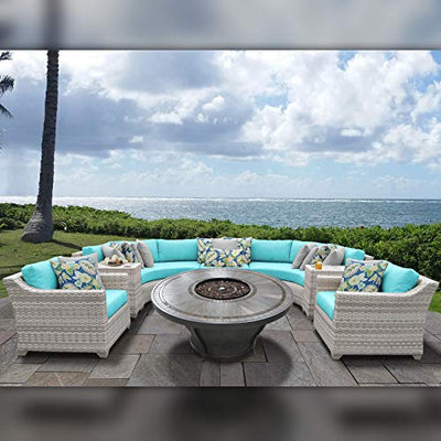 TK Classics FAIRMONT-08k-ARUBA Fairmont Seating Patio Furniture, Aruba
