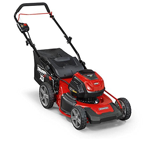 Snapper XD 19 in. 82-Volt Lithium-Ion Electric Cordless Walk Behind Push Mower with (2) 2.0 Ah Batteries and Rapid Charger