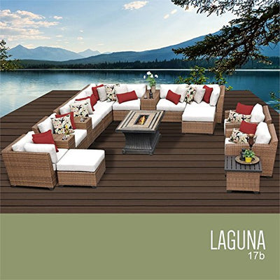 TK Classics LAGUNA-17b-WHITE Laguna Seating Outdoor Furniture, Sail White