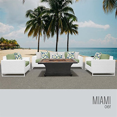 TK Classics MIAMI-06f-CILANTRO Miami Seating Patio Furniture, Cilantro