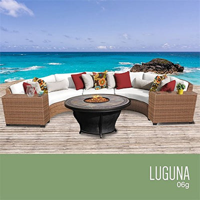 TK Classics LAGUNA-06g-WHITE Laguna Seating Outdoor Furniture, Sail White