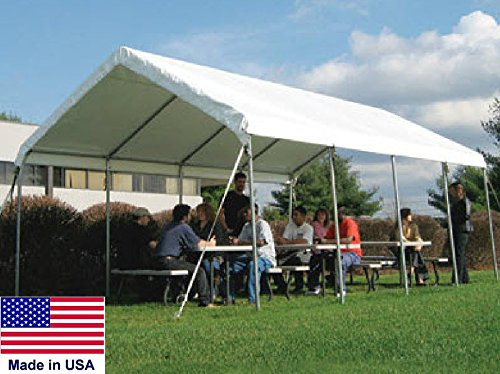 Streamline Industrial CANOPY Commercial - 14 W x 40 L x 10 Ft 6 In H - Coml Duty 14 Gauge Steel Tubing