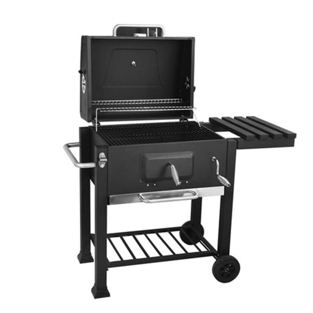 Charcoal grill portable barbecue Barbecue Charcoal Grill BBQ Tool Camping Cooking Grill Outdoor For Camping Picnic Patio Backyard Camping Tailgating Steel Cooking For Steak Chicken Stainless steel fol