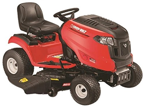 Troy-Bilt 13AAA2BW066 TB2454 24 HP/724cc Foot Hydro Transmission 54-Inch Electric Start Lawn Tractor