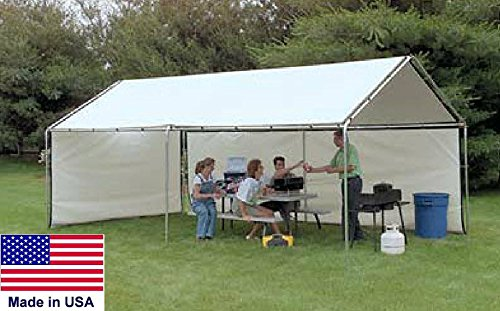 Streamline Industrial CANOPY Residential/Light Coml - 18 W x 40 L x 11 H - HD 17 Gauge Steel Tubing