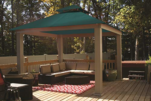 ACACIA 12ft x 12ft Gazebo Oz Green OutDura Canopy