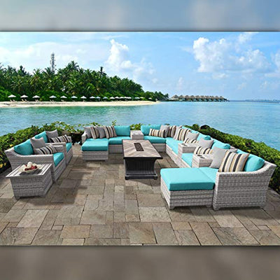 TK Classics FAIRMONT-17d-ARUBA Fairmont Seating Patio Furniture, Aruba