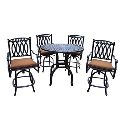 Oakland Living Outdoor &-Patio-Furniture-Sets, Antique Black
