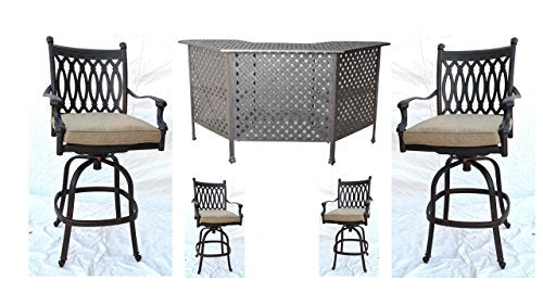 Tourville Outdoor Living Tuscany Party Bar Set
