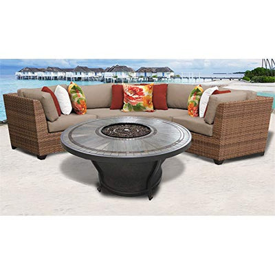 TK Classics LAGUNA-04h Laguna Seating Outdoor Furniture, Wheat