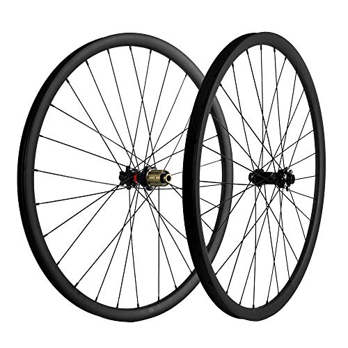 Electric Magic 700C Carbon Fiber Mountain Bike Wheels UD Extinction Cross Section 27mm Matte 25 Width