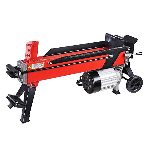 Max-One Shop Powerful Firewood Wood Kindling Cutter Electrical Hydraulic Log Splitter 7 Ton