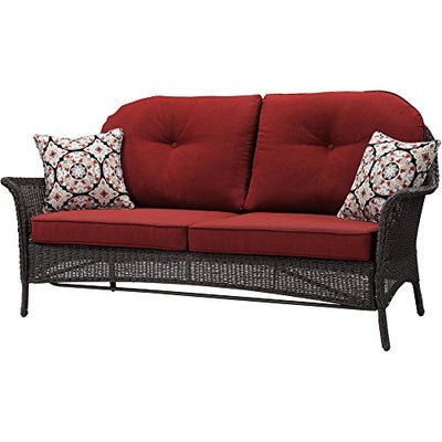 Cambridge SAROS4PC-RED, Red Outdoor Furniture