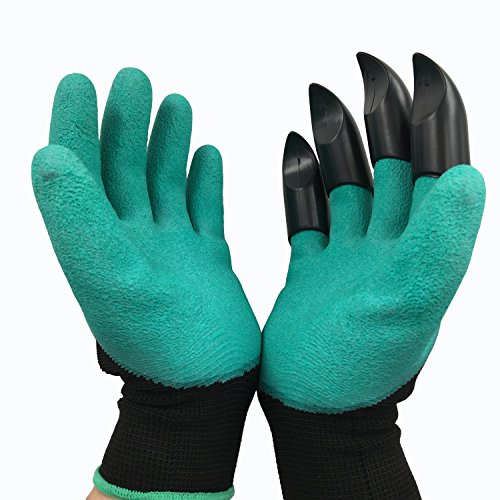 Meanch Gloves Claws Quick & Easy to Dig and Plant Safe for Pruning