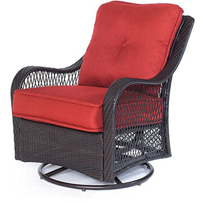 Cambridge MERRITT4PC-RED Merritt 4Piece, Red 4 Piece Patio Set