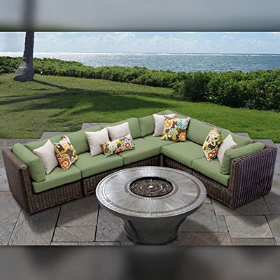 TK Classics VENICE-07i-CILANTRO Venice Seating Patio Furniture, Cilantro