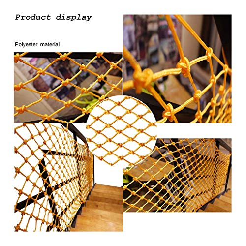 Baby Safety Outdoor Railing Net Protective Mesh Multi-Purpose Decorative Net Safety Net Balcony Anti-Fall Net Childrens Stair Protection Net Kindergarten Fence Net Cat Net Hang Clothes Net White