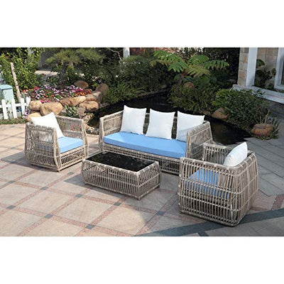 Ceets Chavaughn 4 Piece Outdoor Conversation Set