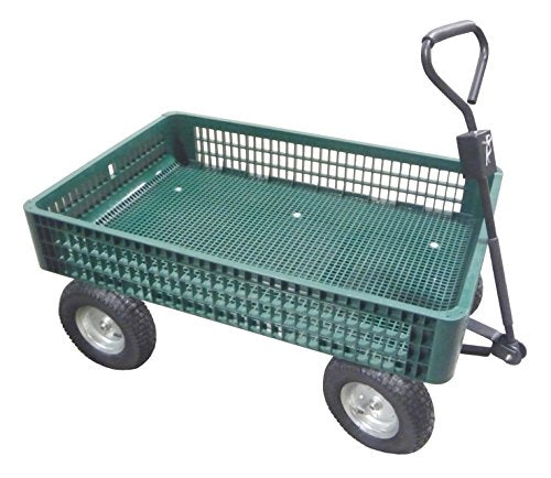 Tierra Garden 45-1854F Green Wagon with Foam Tires