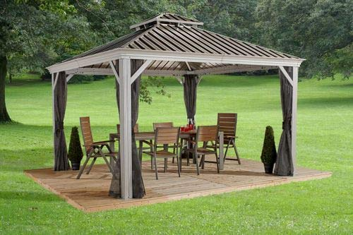 Sojag Messina Sun Shelter Champagne 12'x14'