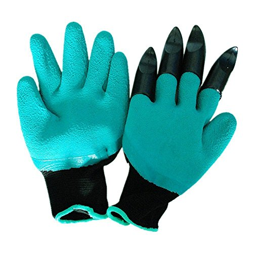 Meanch Genie Gloves Digging & Planting Nursery Plants - As Seen On TV