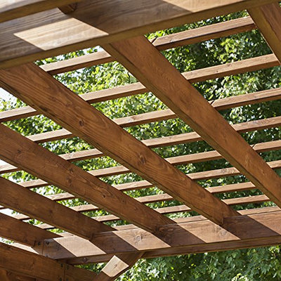 Backyard Discovery Cedar Pergola 12' x 10' Assembly Included