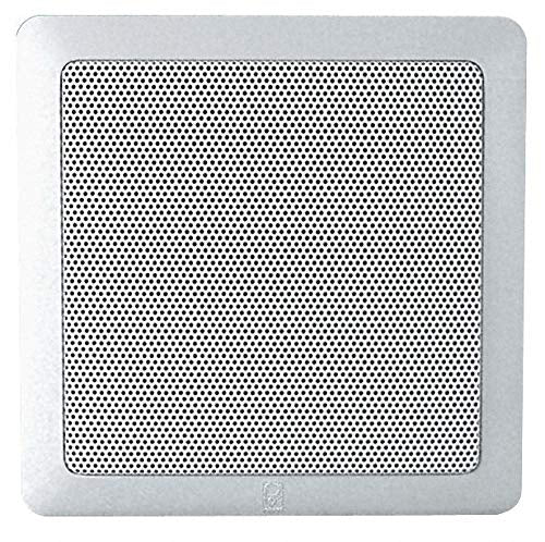 Panel Speakers, White, 2-1/2in.D, 140W, PR