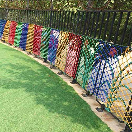 AEINNJ Child Safety Net,Balcony Decor Net Protection Fence Climbing Woven Rope Truck Cargo Trailer Netting Net Mesh Rail Banister Stair Nets,for Playground Children Indoor Decoration Outdoor Yard