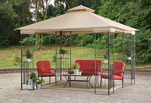 Sunjoy 10' x 10' Marshall Aim Gazebo
