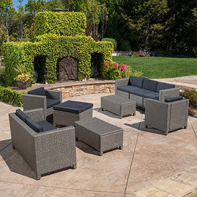 Best Selling Home Decor Furniture Payton 9 Piece Patio Conversation Set