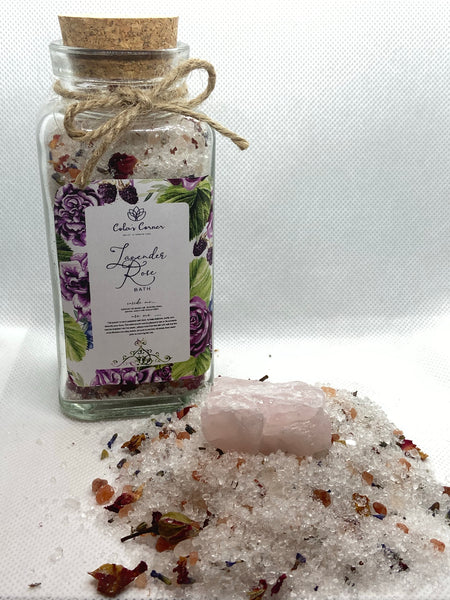 Lavender Rose Bath