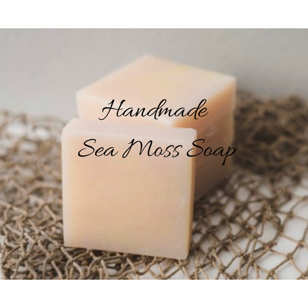 WHOLESALE Sea Moss Soap (handmade)