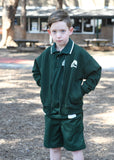 Zip Jacket - Green Fleece