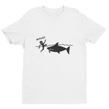 Load image into Gallery viewer, Shark Bite Short Sleeve shark T-shirt