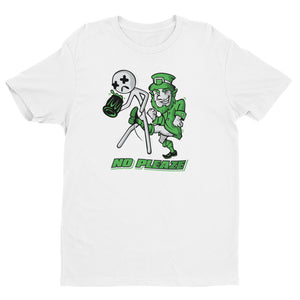 Leprechaun White Short Sleeve T-shirt