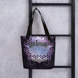 Adam O'Brien Violet Bat Tote Bag