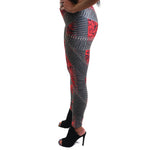 VonSavage Ammo Rose Red Leggings