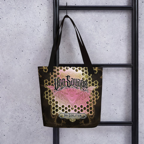 Adam O'Brien Neapolitan Bat Tote bag