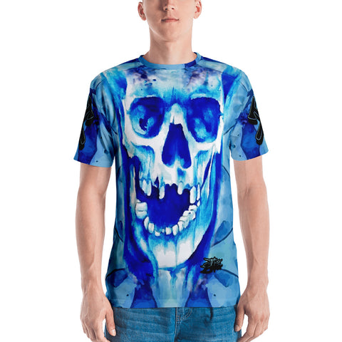 John Todd Water Skuller Blue Men's T-shirt