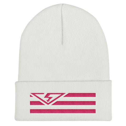 VS FLAG Flamingo Threads Cuffed Beanie