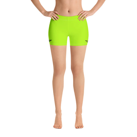 VonSavage Lime Shorts