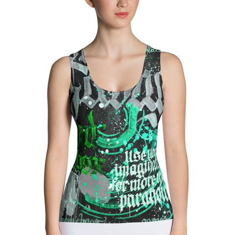 BlackLetterRitual Paranoia Women's Tank Top